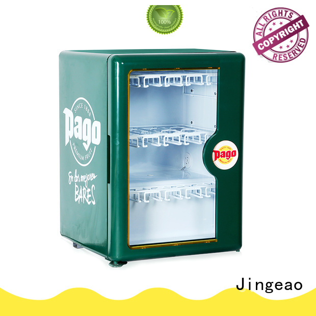 Jingeao cooler commercial drinks refrigerator protection for wine