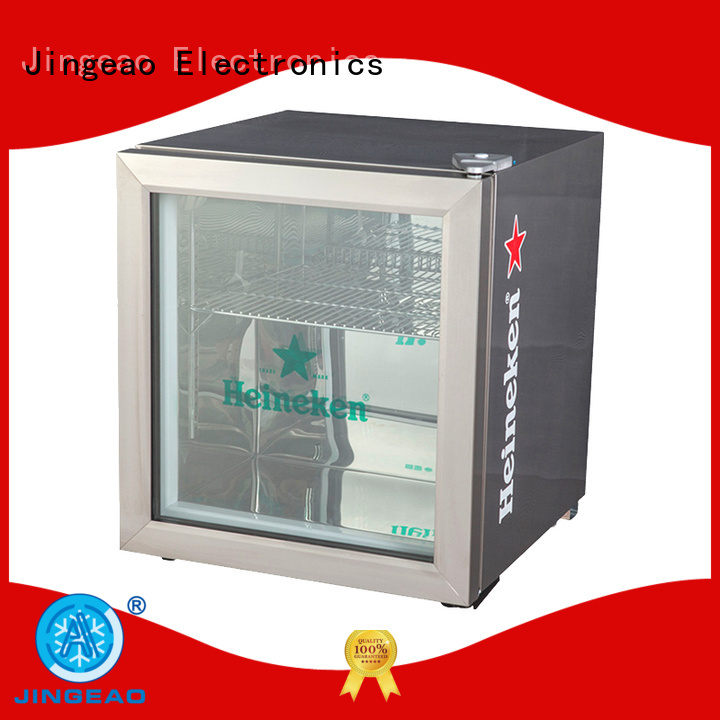 Jingeao good-looking Display Cooler for-sale for bar