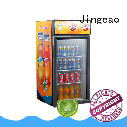 Jingeao cooler small commercial refrigerator type for bar