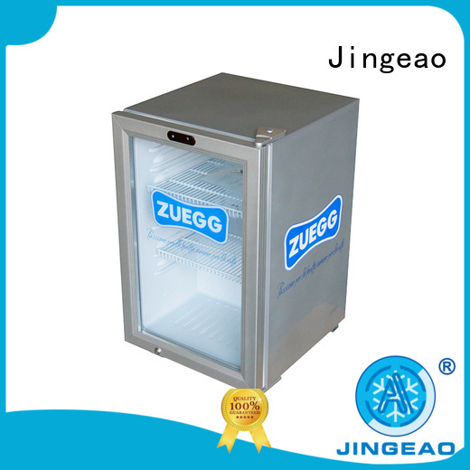Jingeao dazzing small display refrigerator application for bakery