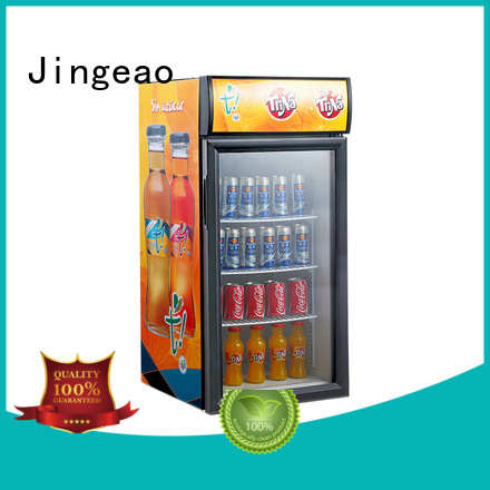 dazzing commercial display refrigerator beverage research for school