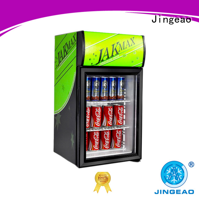 Jingeao good-looking commercial beverage cooler improvement for supermarket