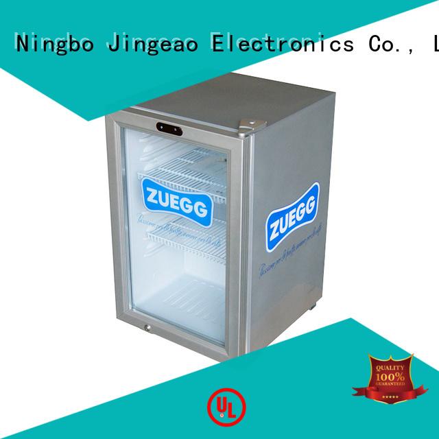 Jingeao dazzing display fridge for-sale for bar