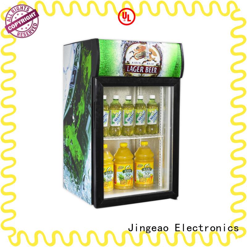 high-reputation mini display fridge display package for hotel