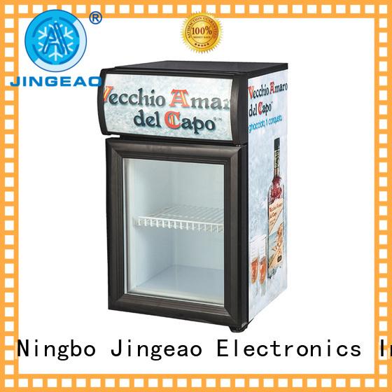 Jingeao fabulous glass front fridge for-sale for bakery