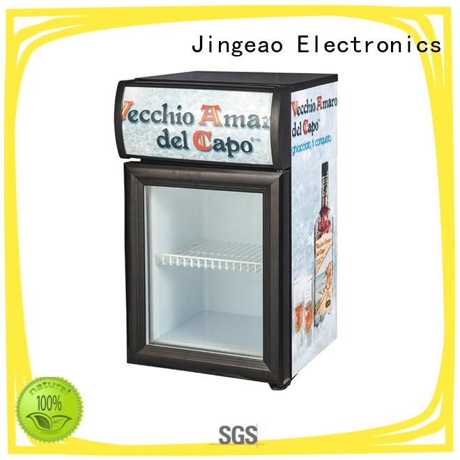 Jingeao display upright display freezer constantly for bar