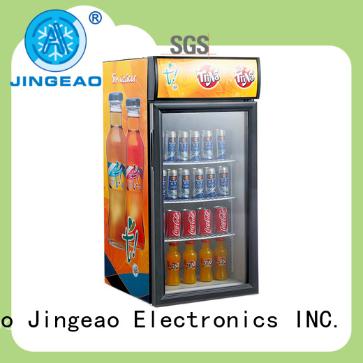 Jingeao beverage commercial drink fridge research for store