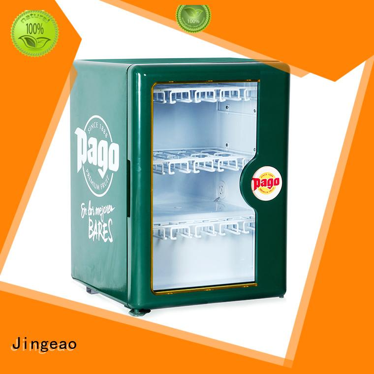 Jingeao cool display freezer marketing for market