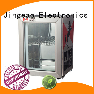 Jingeao fridge commercial display fridges environmentally friendly for hotel