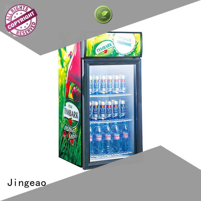 Jingeao fabulous commercial beverage cooler marketing for store