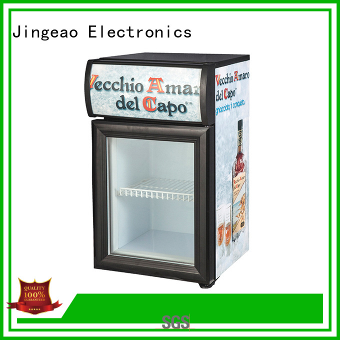 energy saving display fridge cooler type for hotel