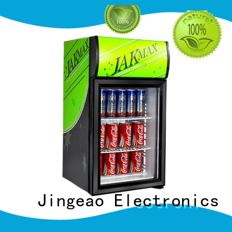 Jingeao display commercial drinks refrigerator for-sale