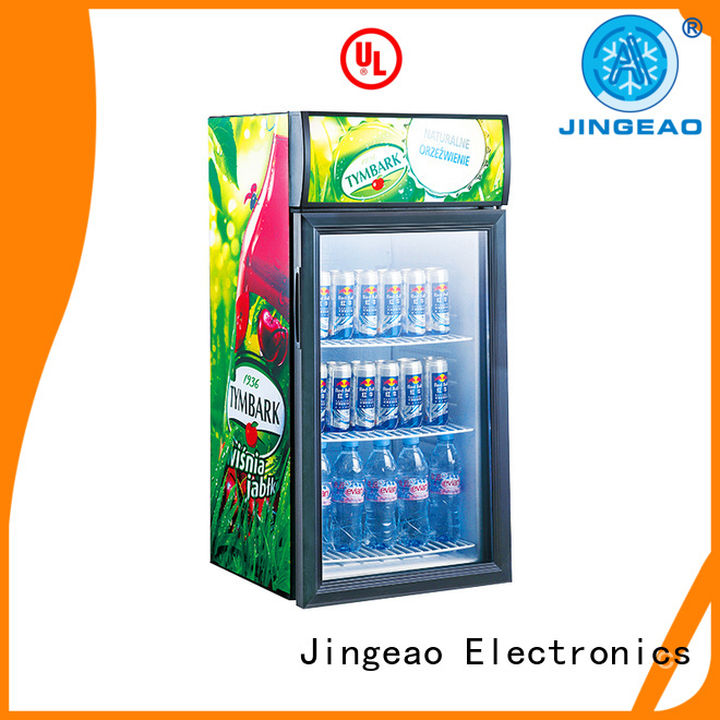 Jingeao display display fridges marketing for supermarket