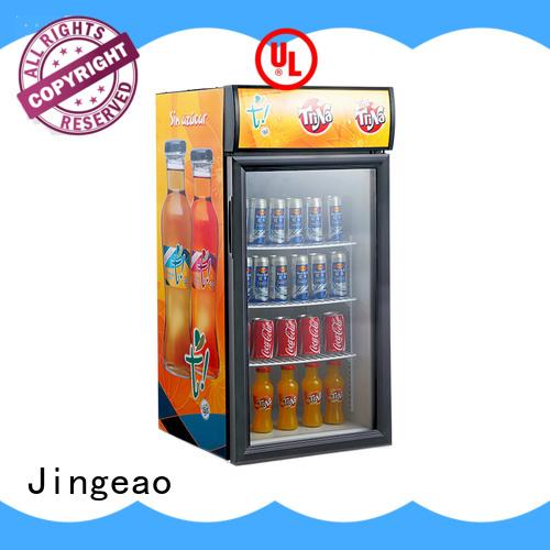 Jingeao beverage commercial display fridges type