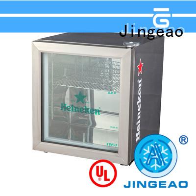 Jingeao power saving commercial drinks fridge type for bakery