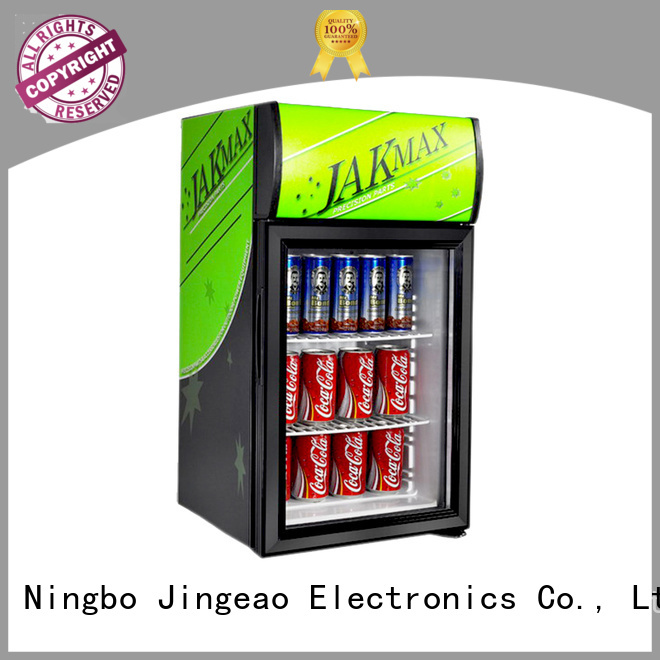 Jingeao cooler display chiller environmentally friendly for supermarket