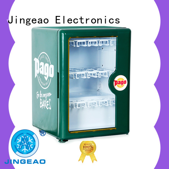 Jingeao display commercial beverage cooler research for bakery