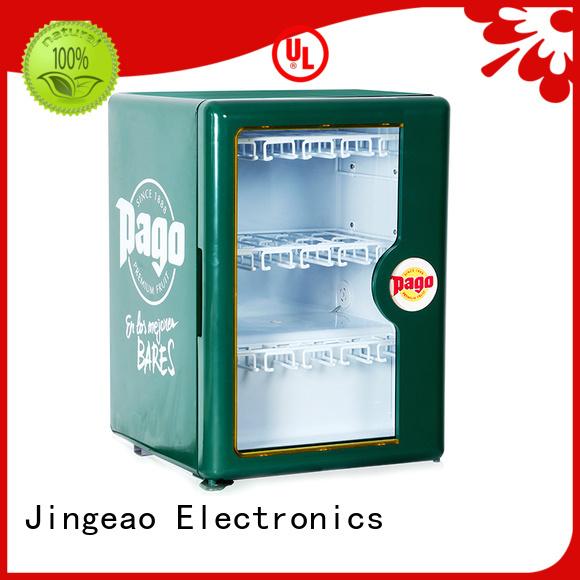 Jingeao fridge display chiller workshops for supermarket