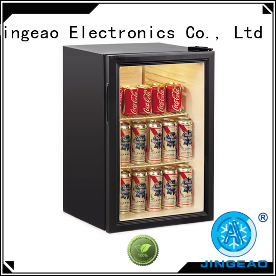 Jingeao cooler glass front fridge sensing for store