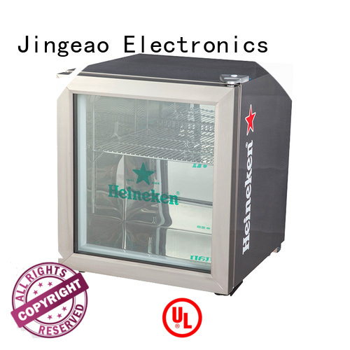 Jingeao fabulous mini display fridge certifications for supermarket