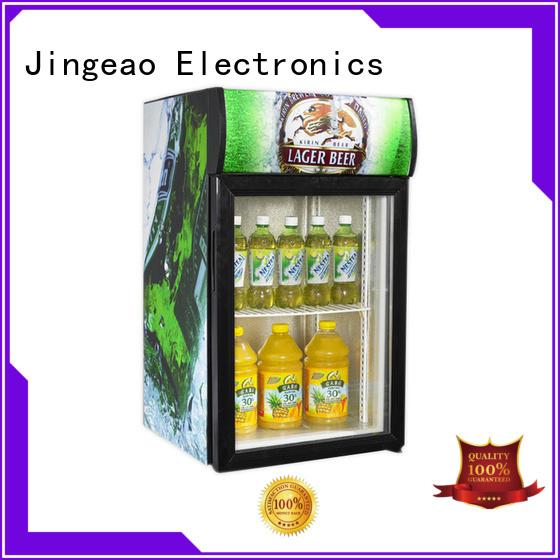 Jingeao superb commercial drinks refrigerator improvement for school