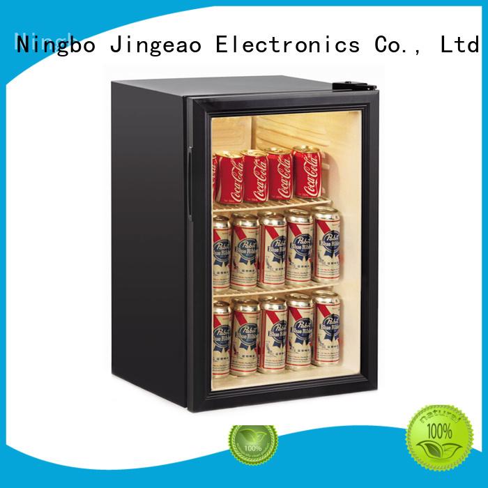 Jingeao beverage display refrigerator for-sale for bar