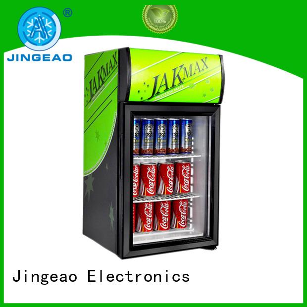 Jingeao fridge beverage display coolers workshops