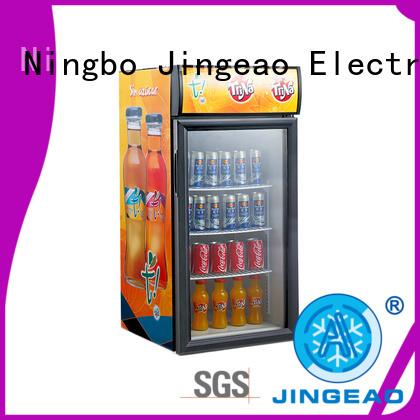 Jingeao display commercial display fridges workshops