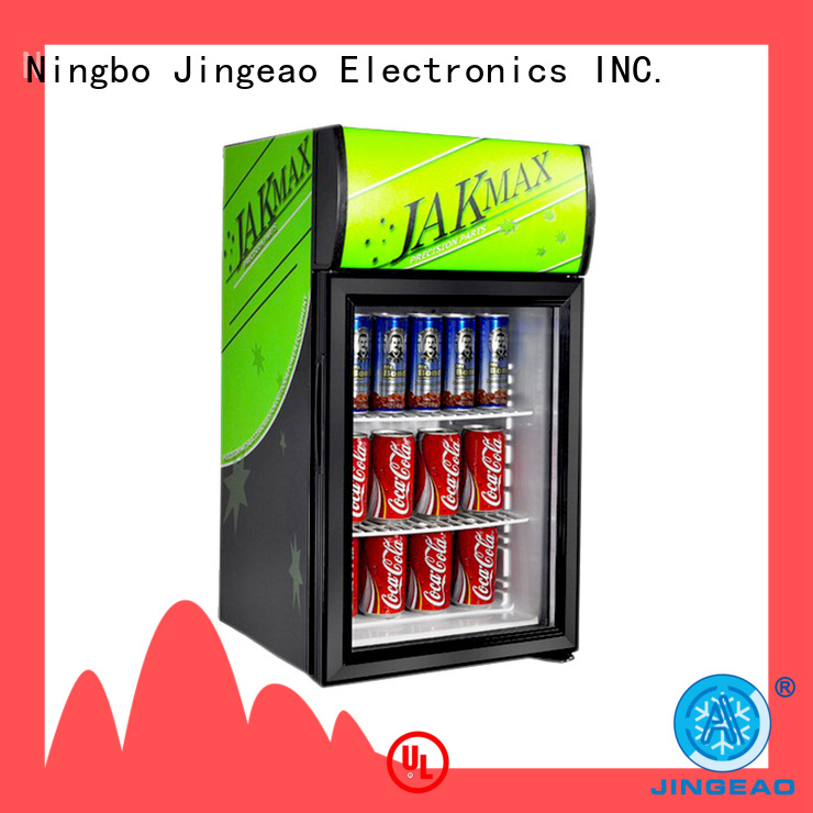Jingeao cooler display refrigerators type for company