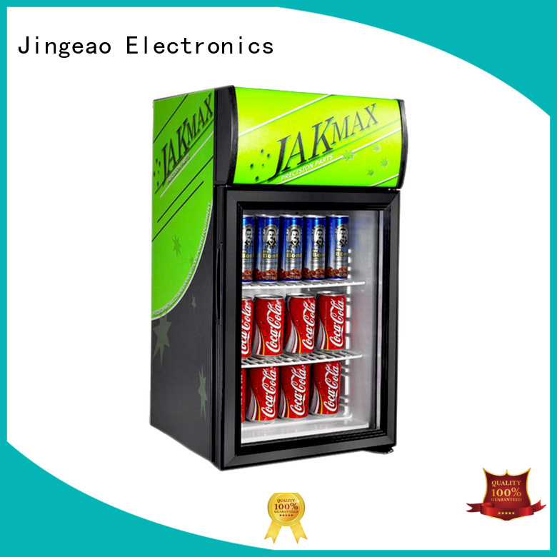 Jingeao fridge display fridge package for school