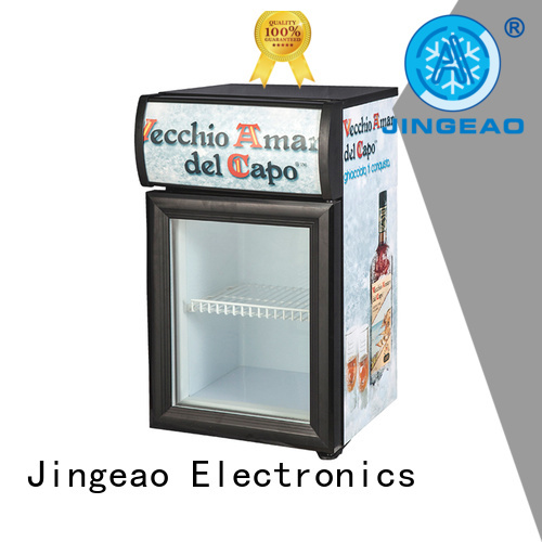 Jingeao display display fridge workshops for wine