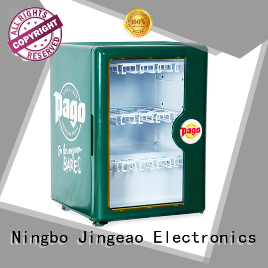Jingeao display commercial display fridges protection for company