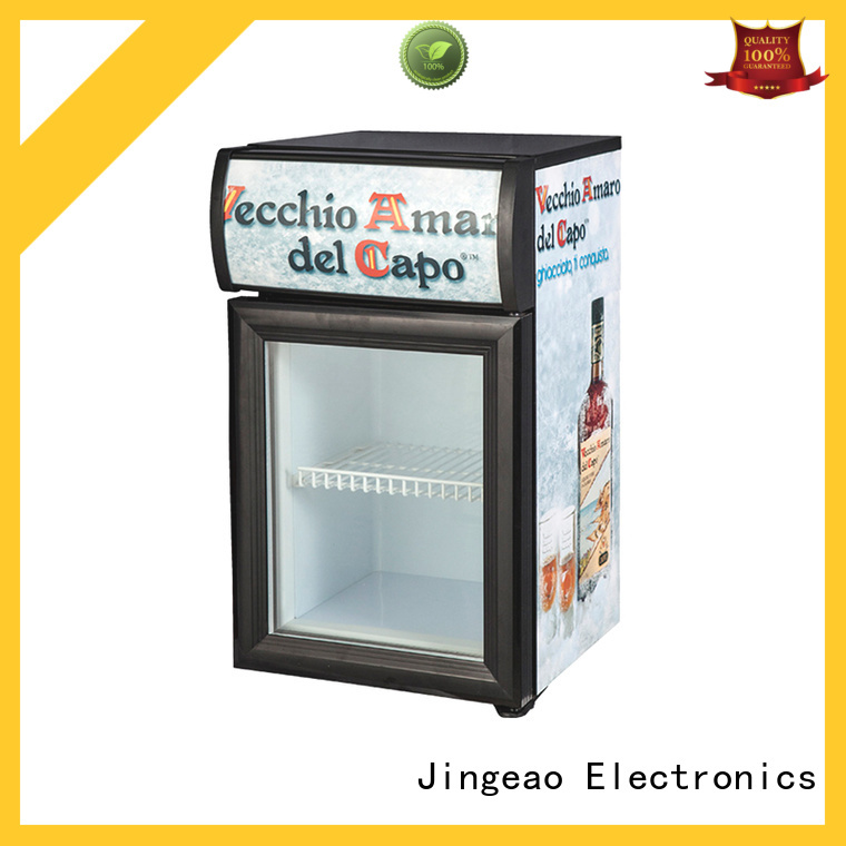 Jingeao fabulous glass front fridge sensing for restaurant