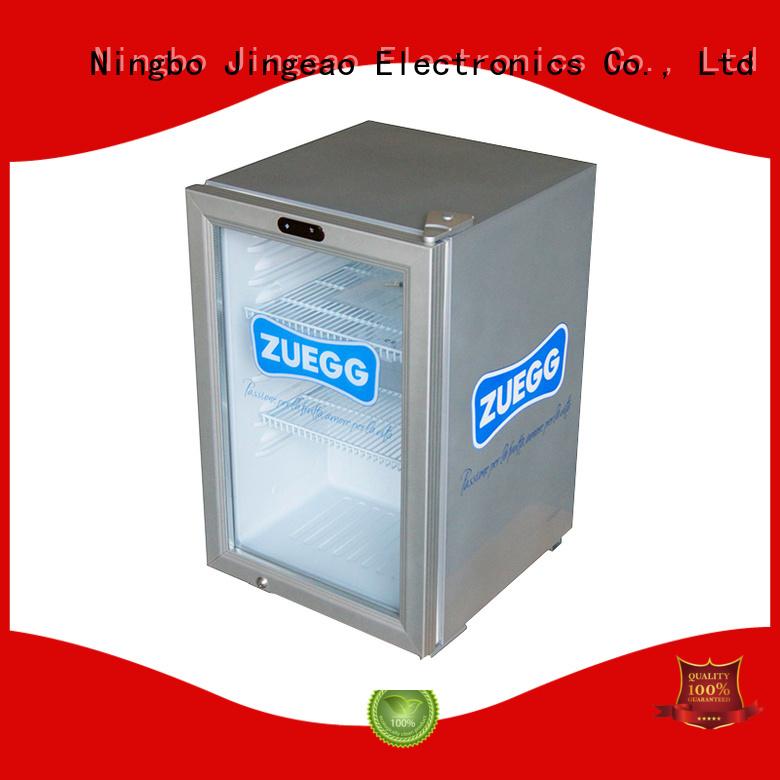 Jingeao fabulous glass front fridge beverage for wine