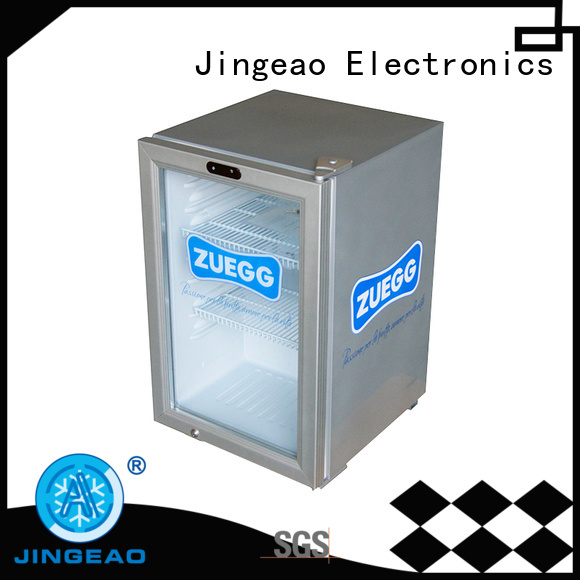 Jingeao beverage commercial cooler application for bakery