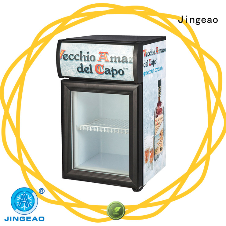 Jingeao fridge display refrigerator type for store