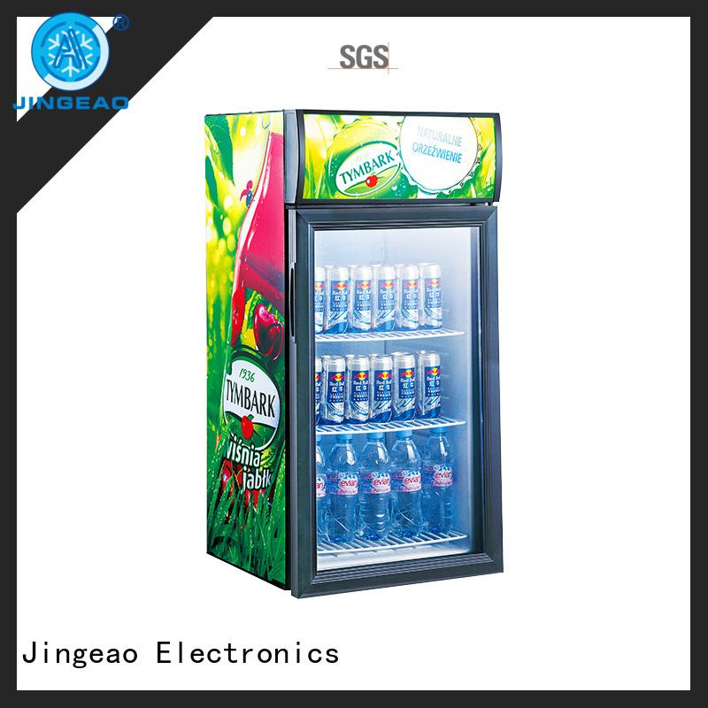 Jingeao fridge retail display fridge workshops for wine