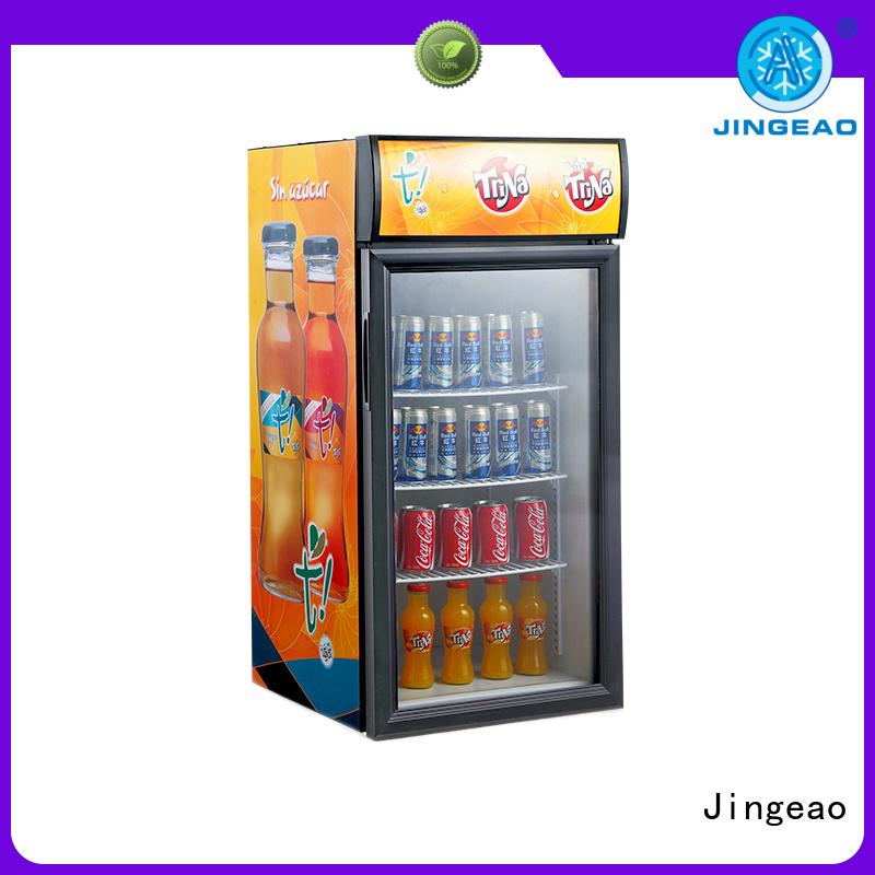 Jingeao cooler commercial beverage cooler management for market