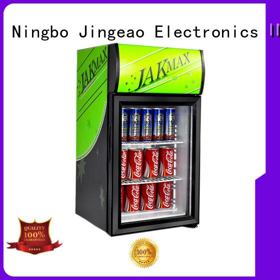 Jingeao fridge glass front fridge protection for company