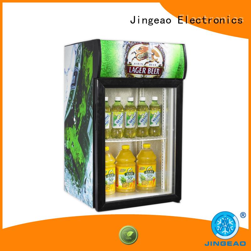 Jingeao cooler display chiller management for restaurant