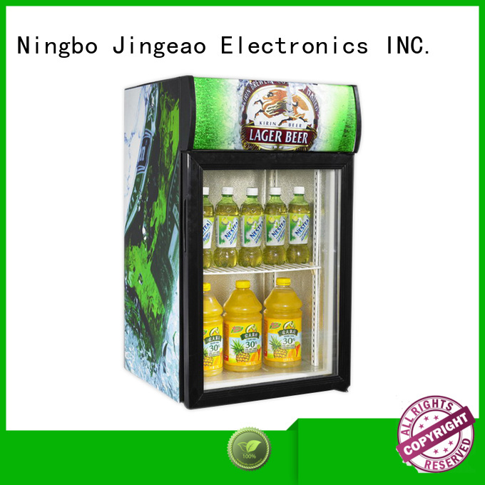 Jingeao popular commercial display fridge for sale protection for bakery