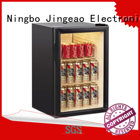 Jingeao superb display fridge protection for supermarket