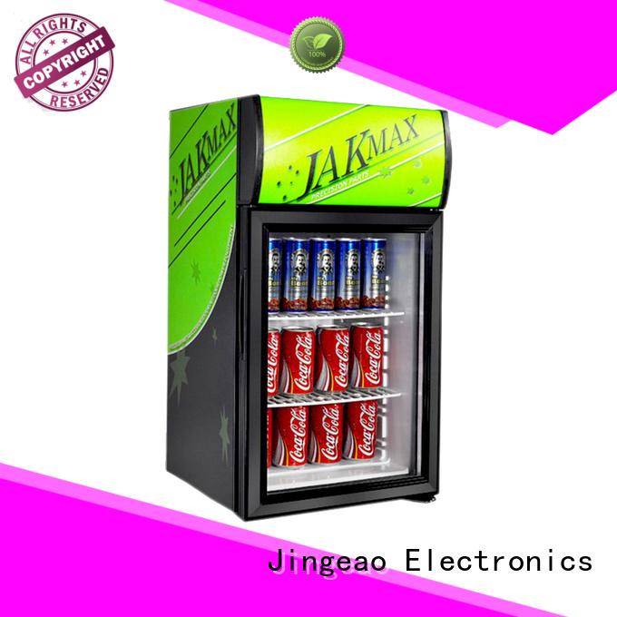 Jingeao fridge display chiller marketing for market