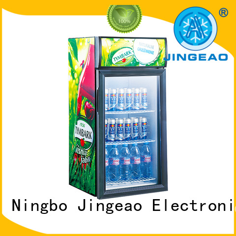 Jingeao fridge display fridge type for school