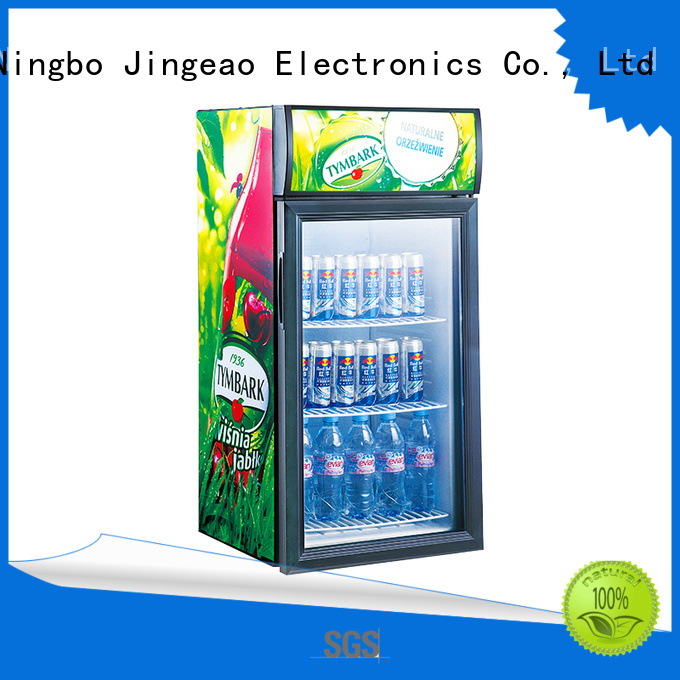 Jingeao popular beverage coolers manufacturers certifications for bakery