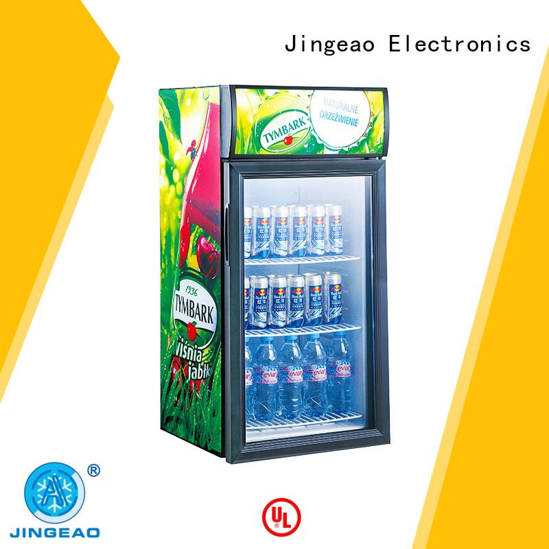 Jingeao good-looking commercial drinks cooler workshops for market