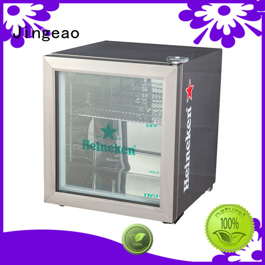 Jingeao beverage commercial display refrigerator type for restaurant