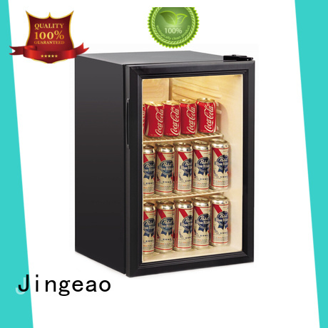 Jingeao cool commercial display fridges improvement for hotel