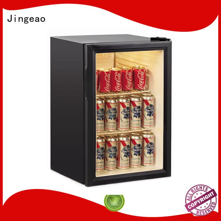 Jingeao energy saving commercial display fridges management for store