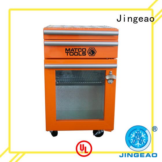 Jingeao fashion design tool box refrigerator efficiently for bar